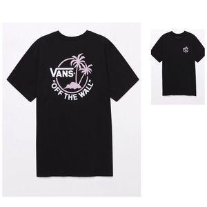 Vans Mini Dual Palm Black T-Shirt Size M